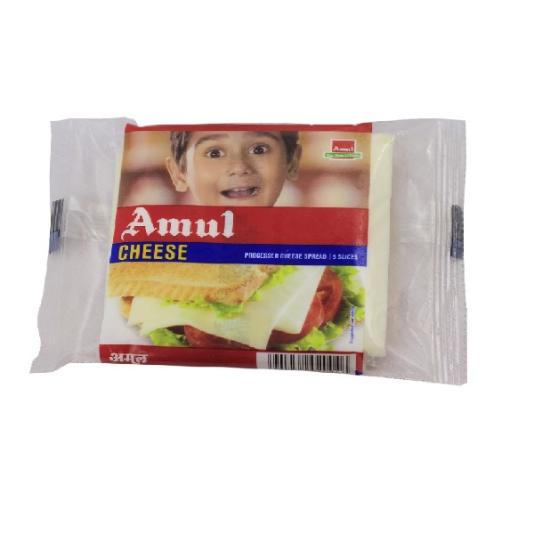 Amul Cheese - 5 Slices, 100g