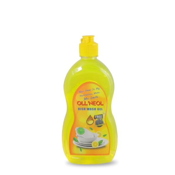 OLL'NEOL Dish Wash Gel 500 ml ,Free Steel Scrubber