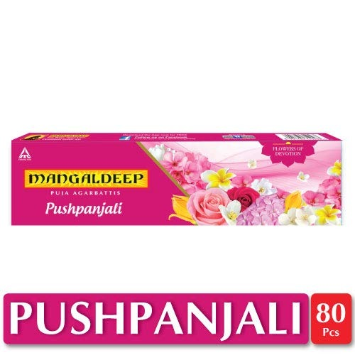 Mangaldeep Pushpanjali  Flowers of Devotion , 80 Sticks
