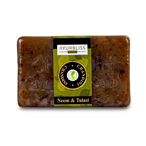 AYURBLISS NEEM & TULSI SOAP - PACK OF 3