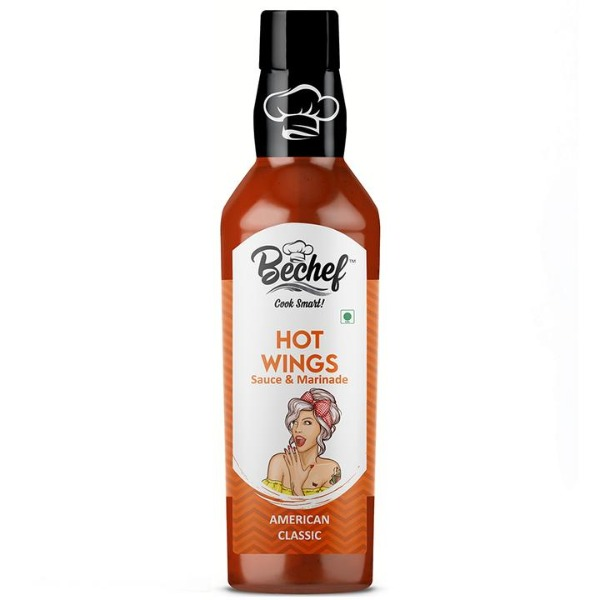 Bechef Hot Wings :: American Classic Hot Sauce