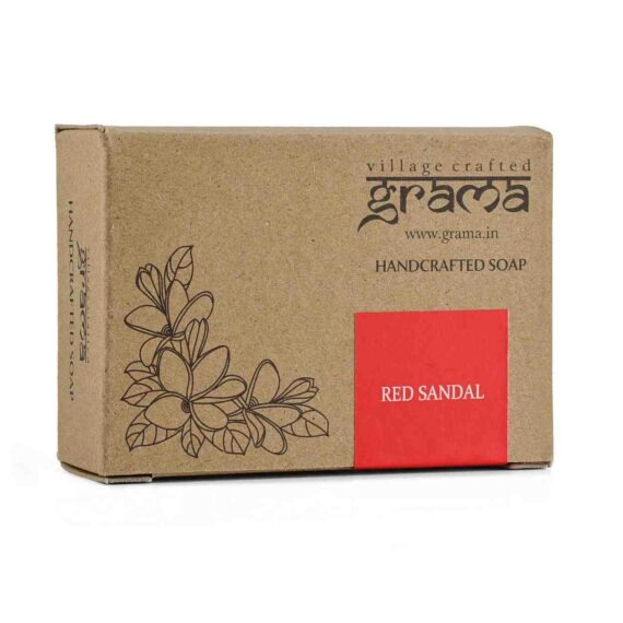 GRAMA RED SANDAL - Handcrafted Soap