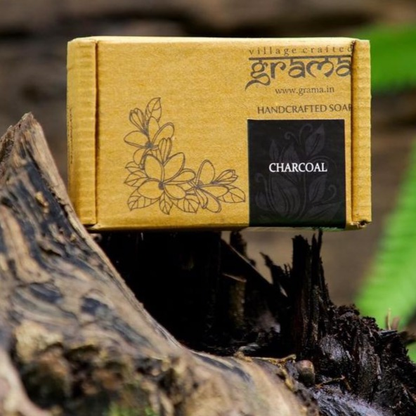 GRAMA  CHARCOAL - Handcrafted Soap