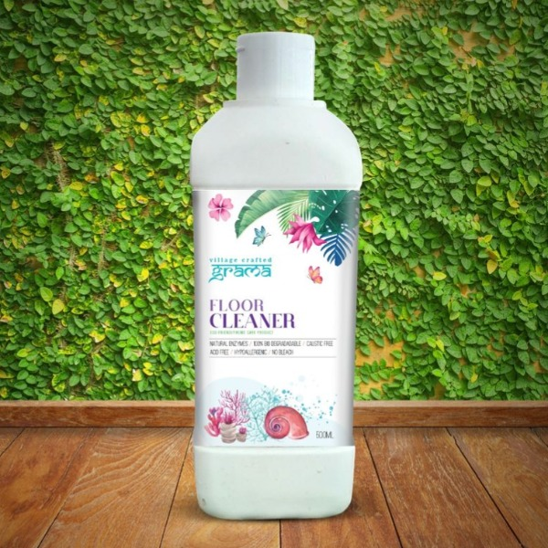 GRAMA  FLOOR CLEANER - No Chemicals | Bio degradable | Non Toxic | Earth Friendly