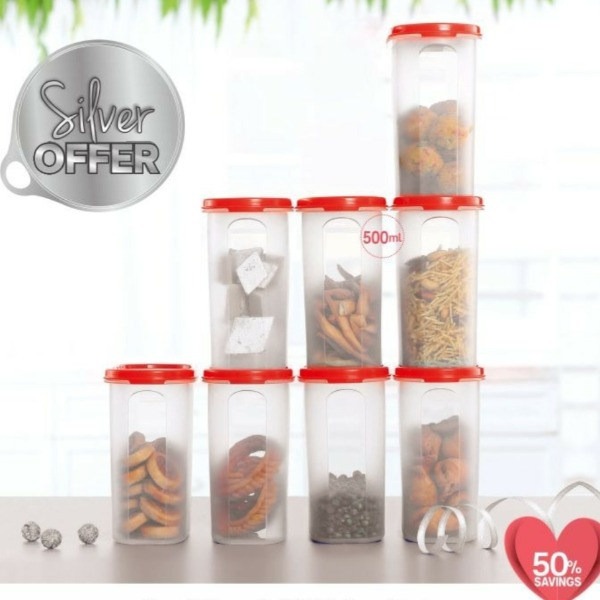 Tupperware Mm Oval 3# Buy 4 and Get 4Pcs Free