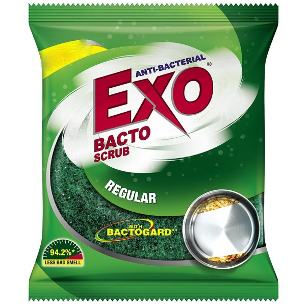 Exo Antibacterial Bacto Scrub with Bactogard Ginger Twist