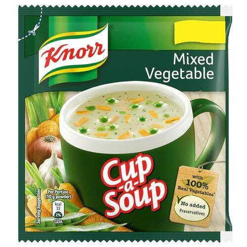 Knorr Mixed Vegetable Soup , 10 gm