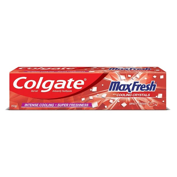 Colgate Max Fresh with Cooling Crystals spicy fresh paste