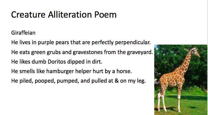 Alliteration In Poems 6