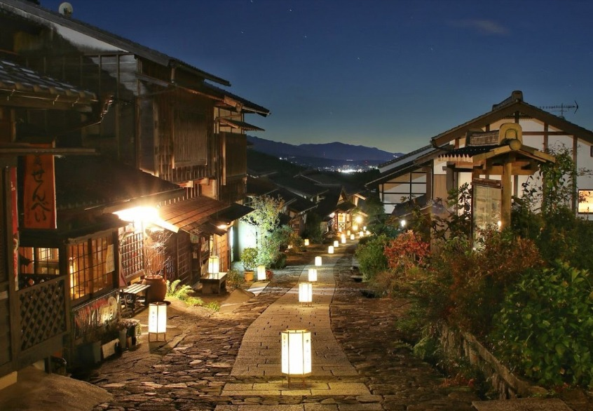 Magome by night