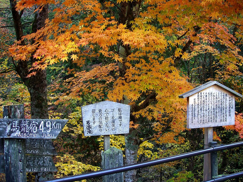 Walk the Trail from Magome to Tsumago 1