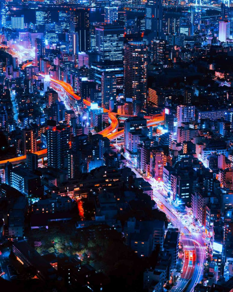 Where to stay in Tokyo for first timers skyline