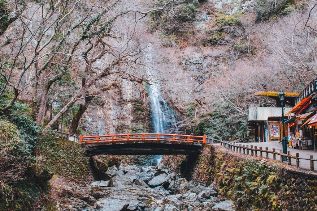 Most Instagrammable Places in Osaka Minoo Falls 2