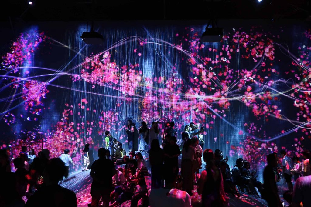 Most Instagrammable Places in Tokyo Digital Art Museum Team Lab 1