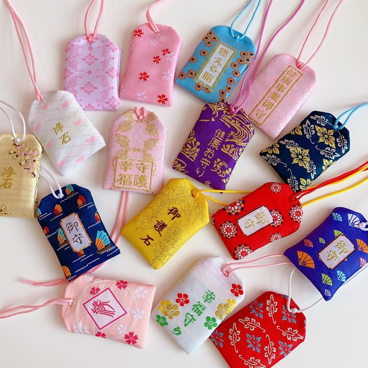 Omamori Japanese Lucky Charms Amulets 4