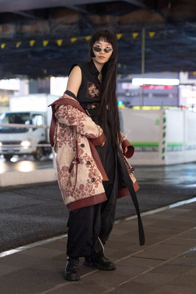 Japanese Fashion Trends - Slouchy Outerwear