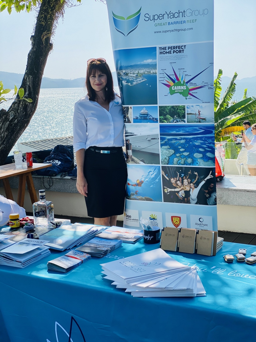 SYGGBR-stand-at-Information-Breakfast-Joanne-Drake