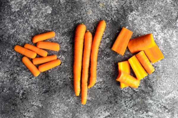 types of carrots that can be used in this recipe