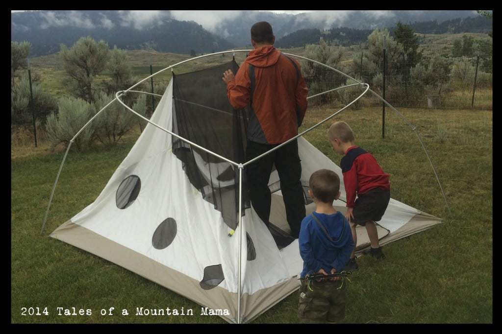 The Ultimate Outdoor Family Tent - Directly from the Designer