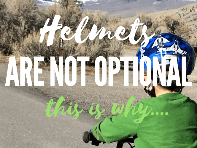 helmets are not optional