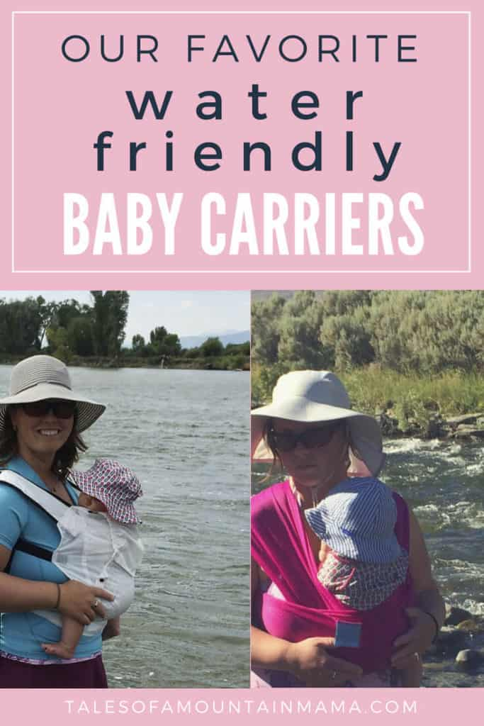 best water friendly baby carriers
