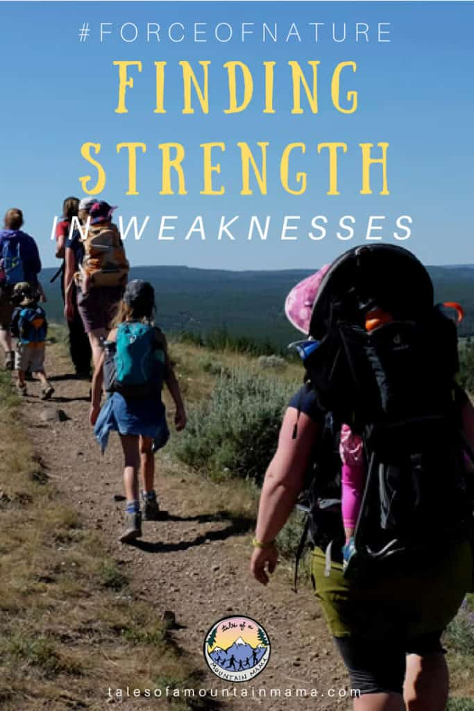 finding strength in weaknesses