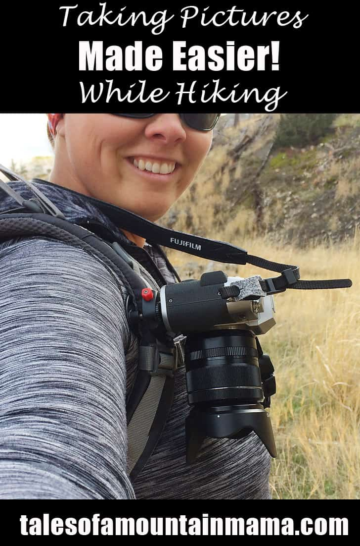 Taking Pictures While Hiking Made Easier