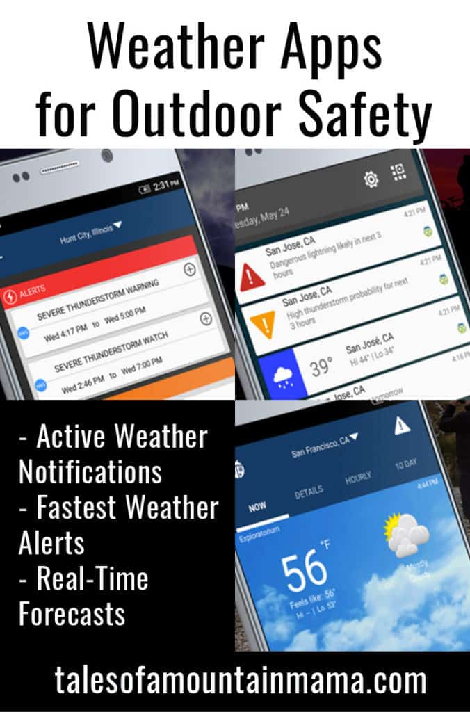 Weather Apps for Outdoor Safety