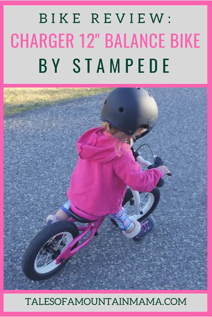 stampede charger balance bike review