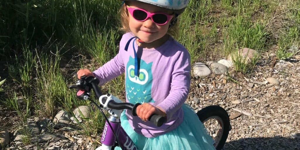 Starting a Toddler on a Balance Bike - Tips and Tricks