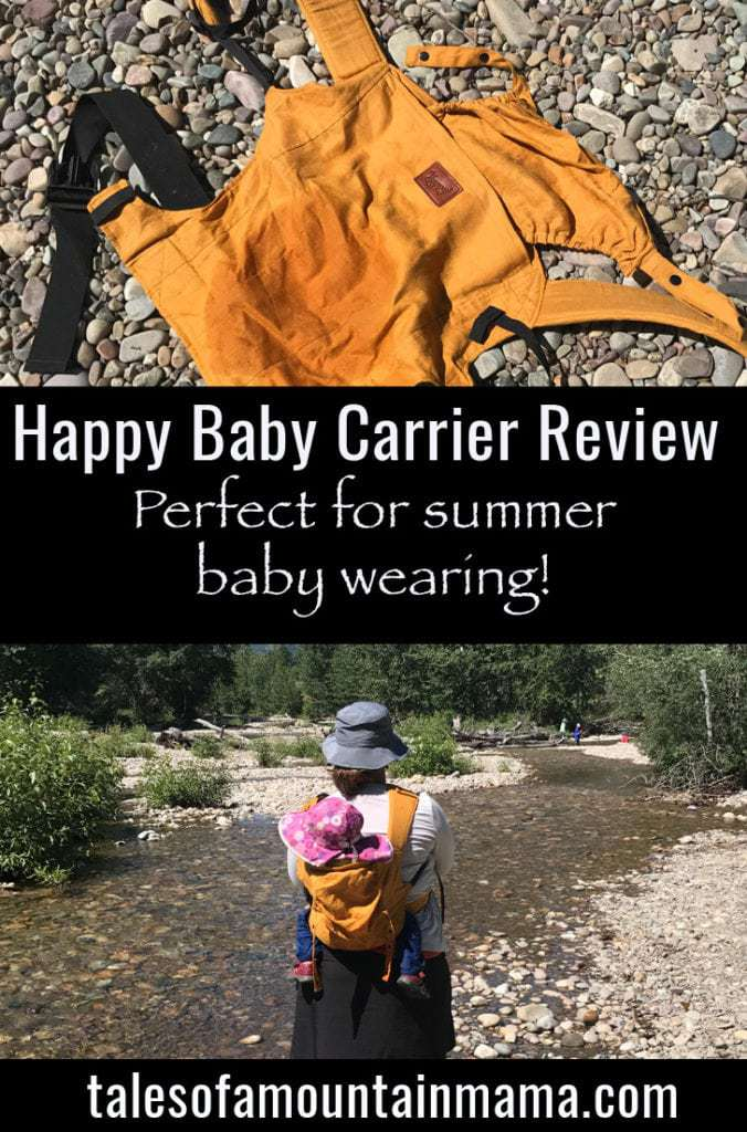 Happy Baby Carrier for Comfortable Summer Baby Wearing