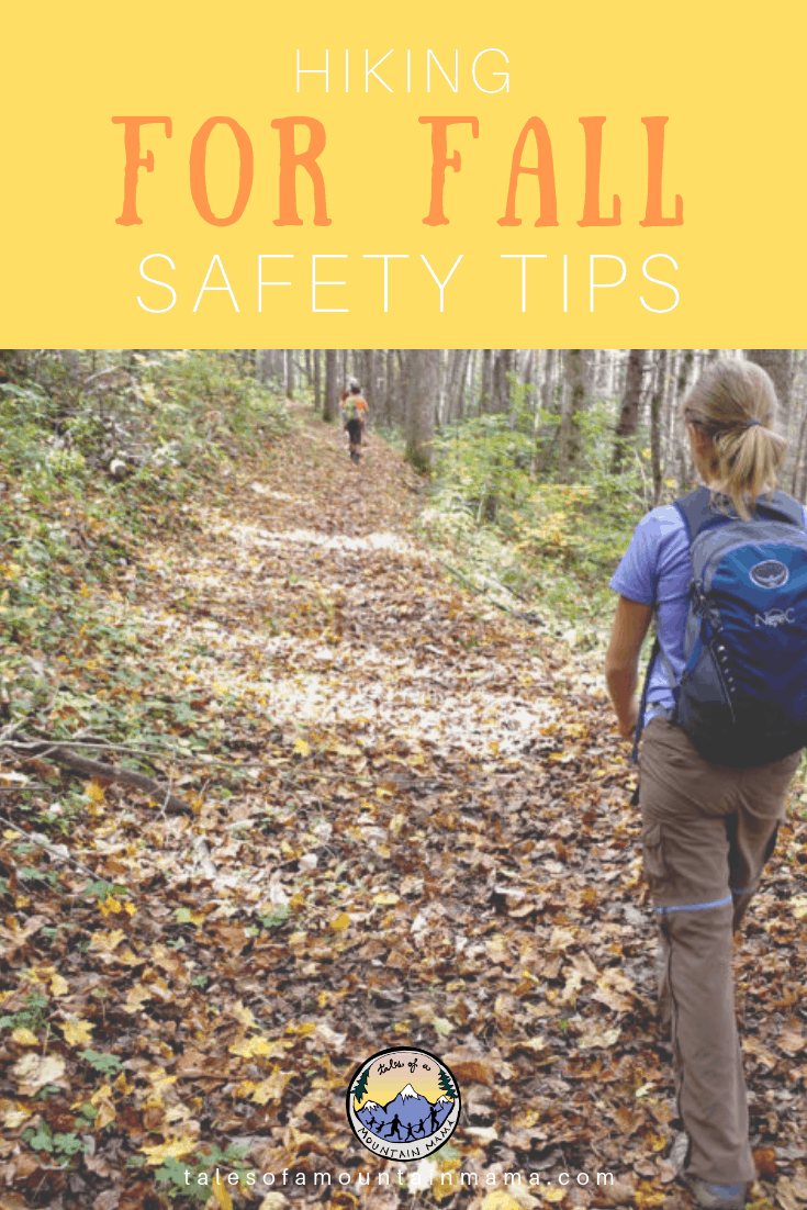 Hiking Safety Tips for Fall