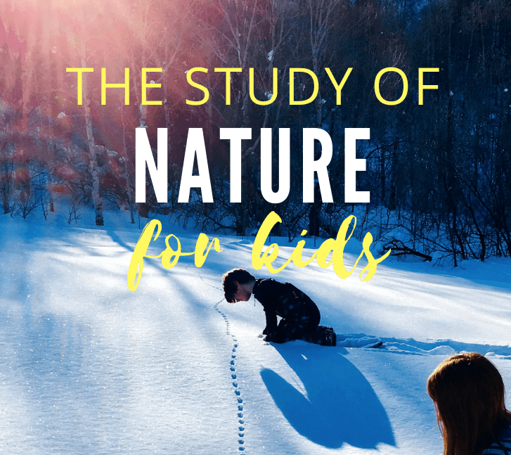 the study of nature for kids
