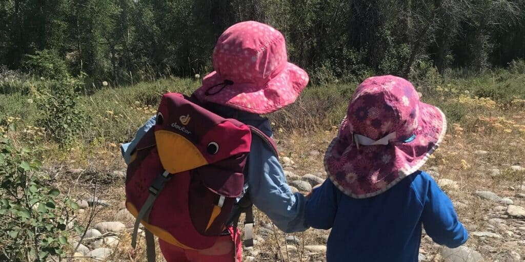 Hot Weather Hiking with Kids