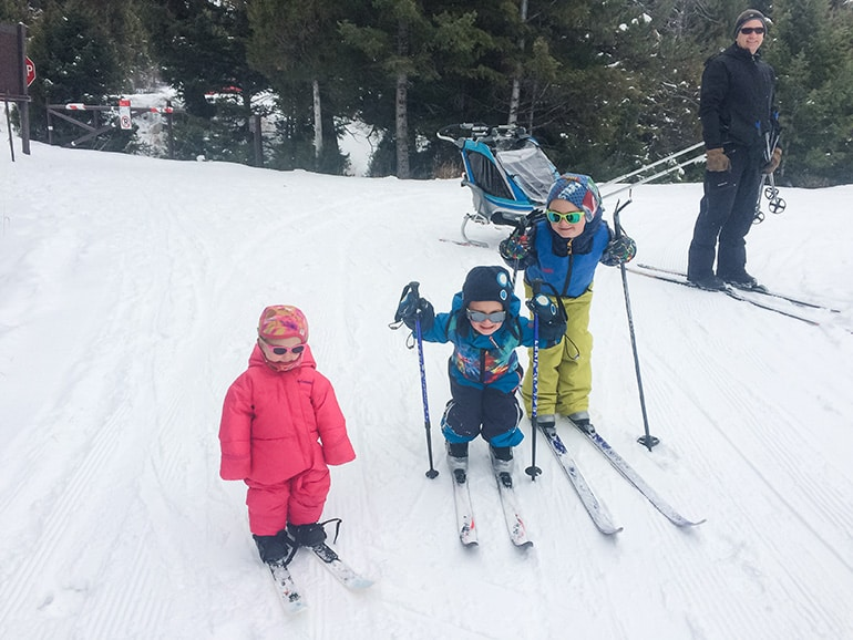 10 Tips for XC Skiing with Kids