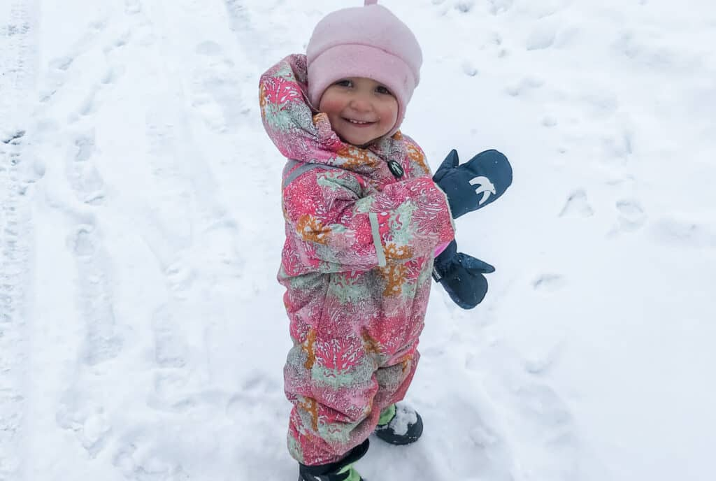 Layering up Kids for Cold Weather