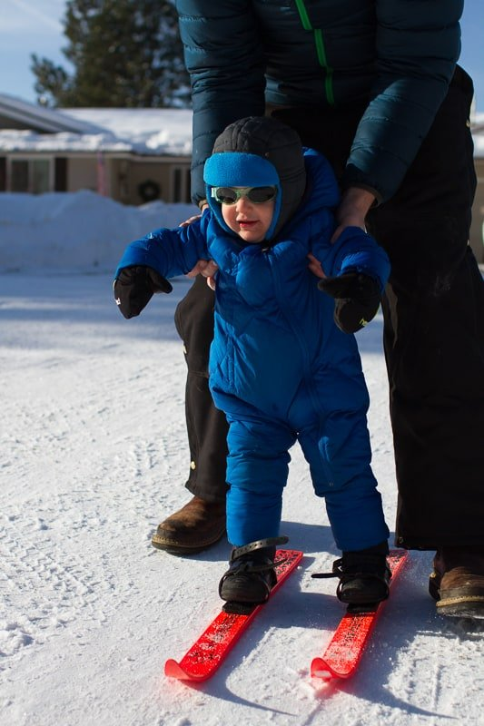 How to Teach Kids to Downhill Ski