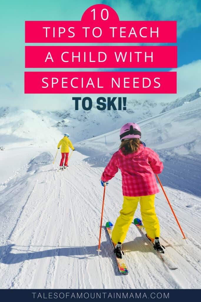 Teaching a Special Needs Child to Ski