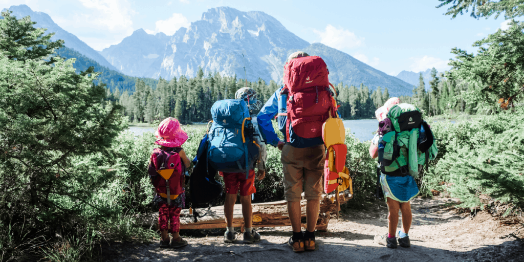 Family Camping and Backpacking