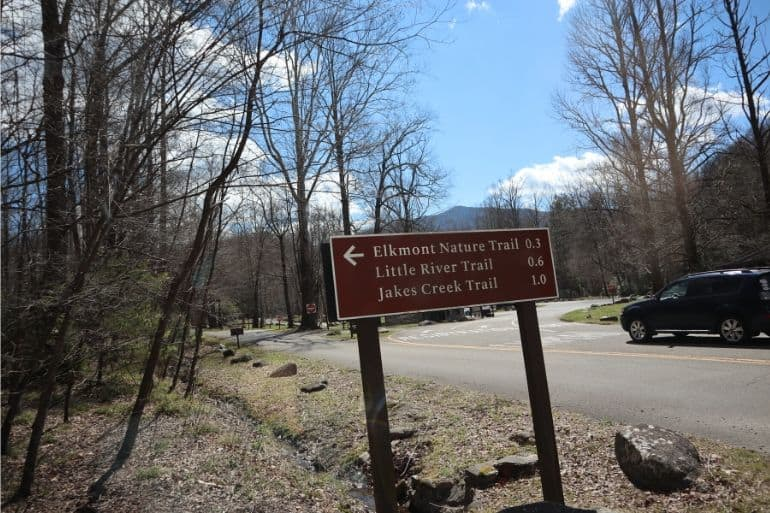 Directions to Elkmont Nature Trail