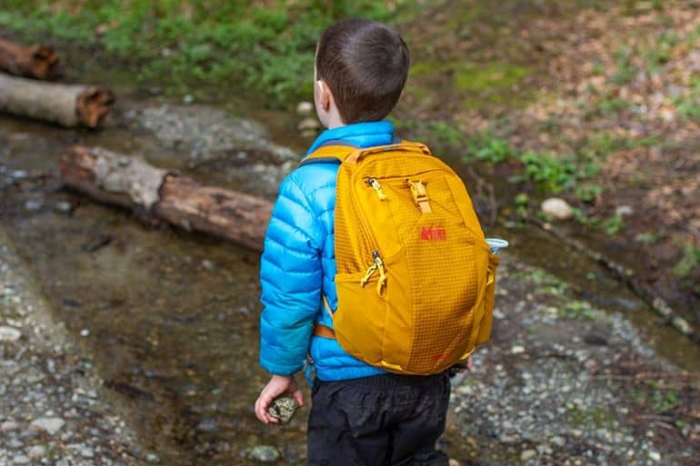 REI Tarn 12 is one of the best hiking backpacks for kids