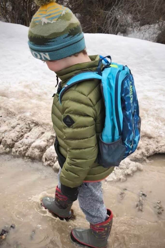 The CamelBak Kids Scout is one of the best hiking backpacks for kids