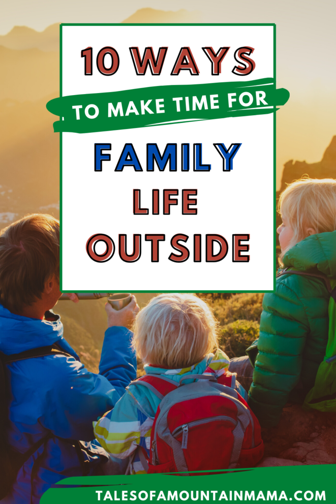 outdoor family lifestyle