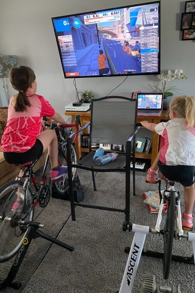 how to zwift with kids
