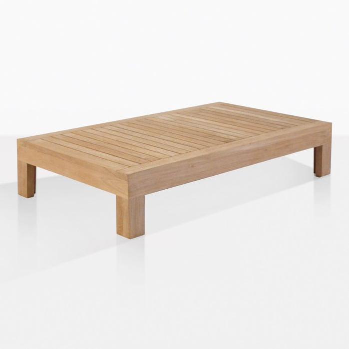 Cabo Teak Outdoor Coffee Table Patio Lounge Accent Teak Warehouse