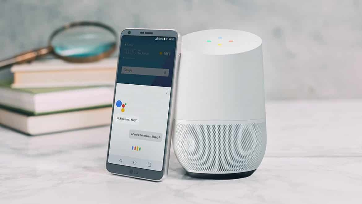 lg g6 with google assistant google home
