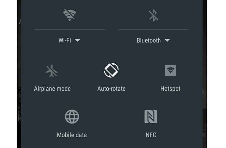 androidpit settings icons sony w782