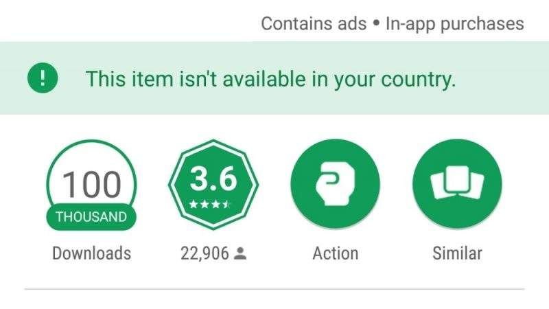 Fix Not Available in Your Country 4 Google Play