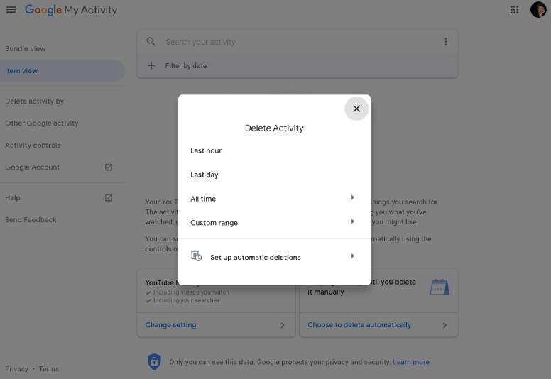 2019 10 03 15 02 32 How to auto delete your YouTube history The Verge