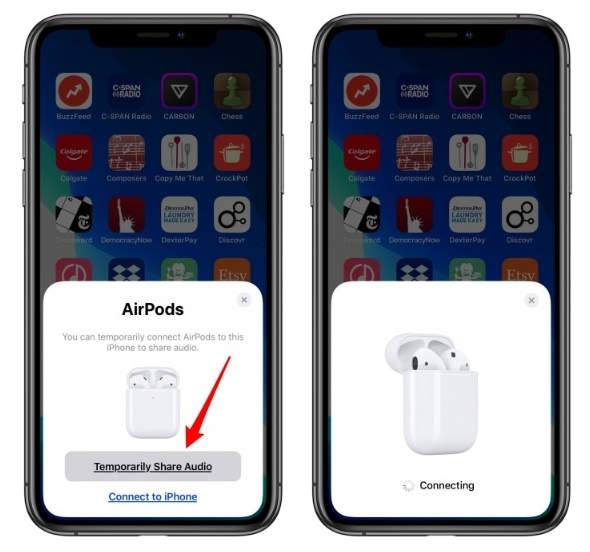 2019 12 01 01 37 27 How to Connect 2 Pairs of AirPods to an iPhone New for iOS 13 iPhoneLife.com